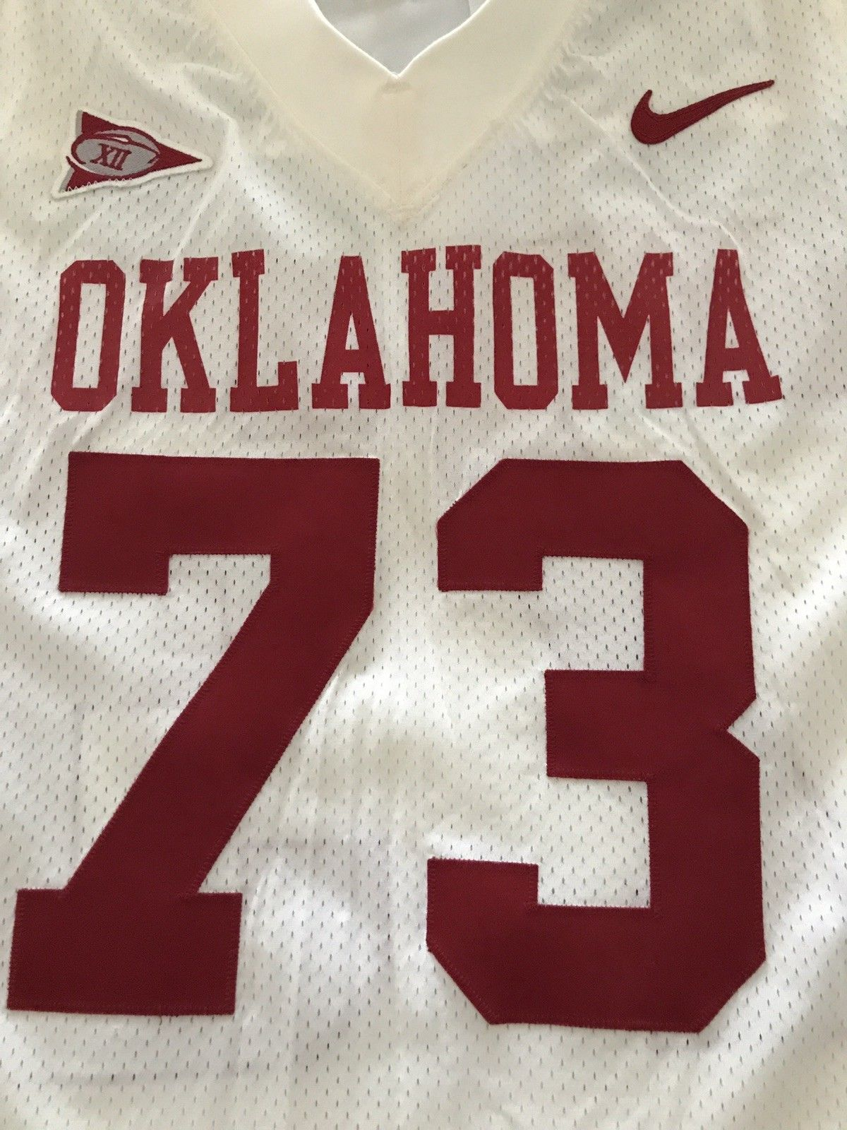 huge selection of 643d1 aefb0 Game Used:Oklahoma Sooners Game Worn Used Authentic Jersey ...