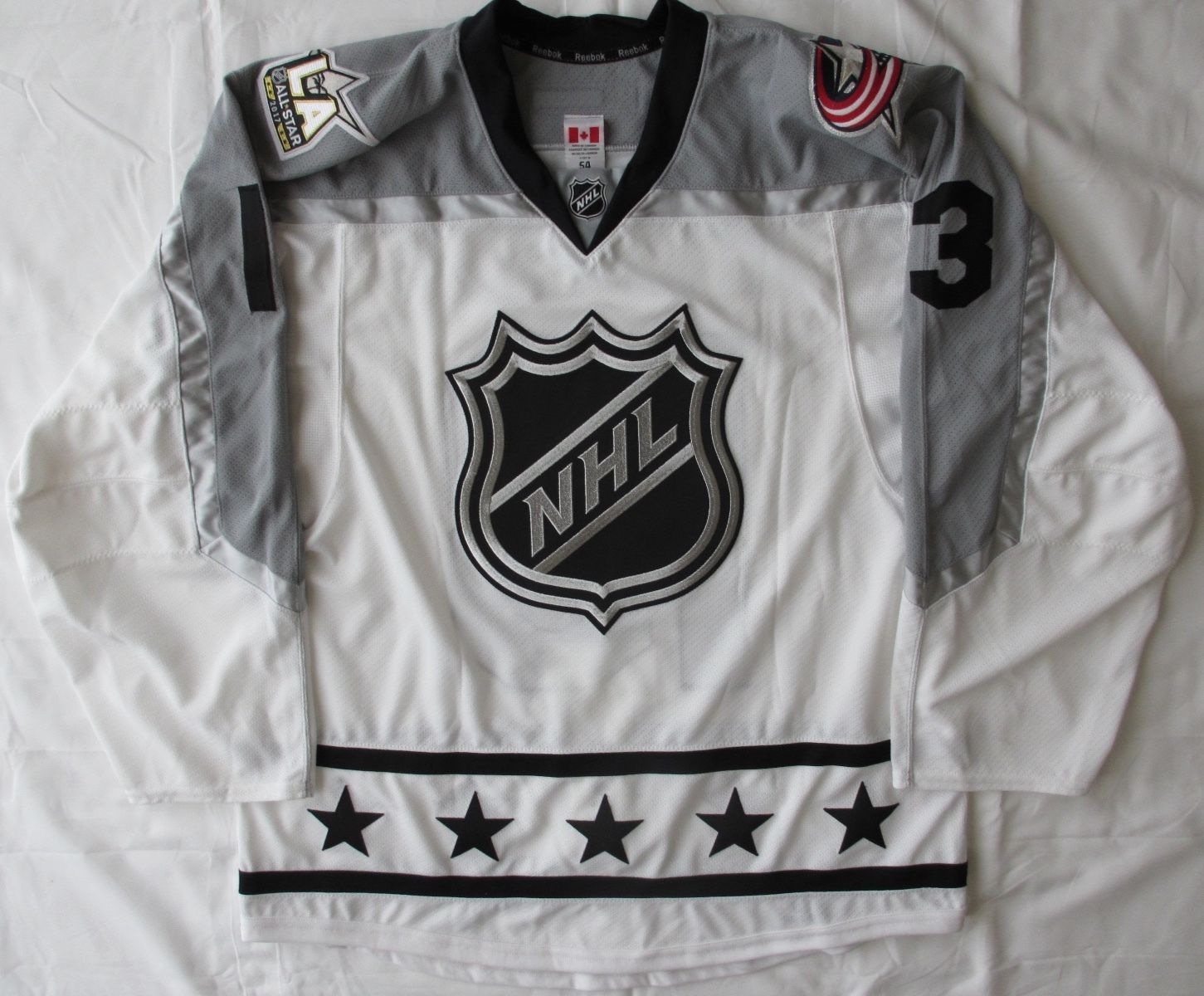 buy online 65a9f f6256 Game Used:Cam Atkinson Columbus Blue Jackets 2017 All-Star ...