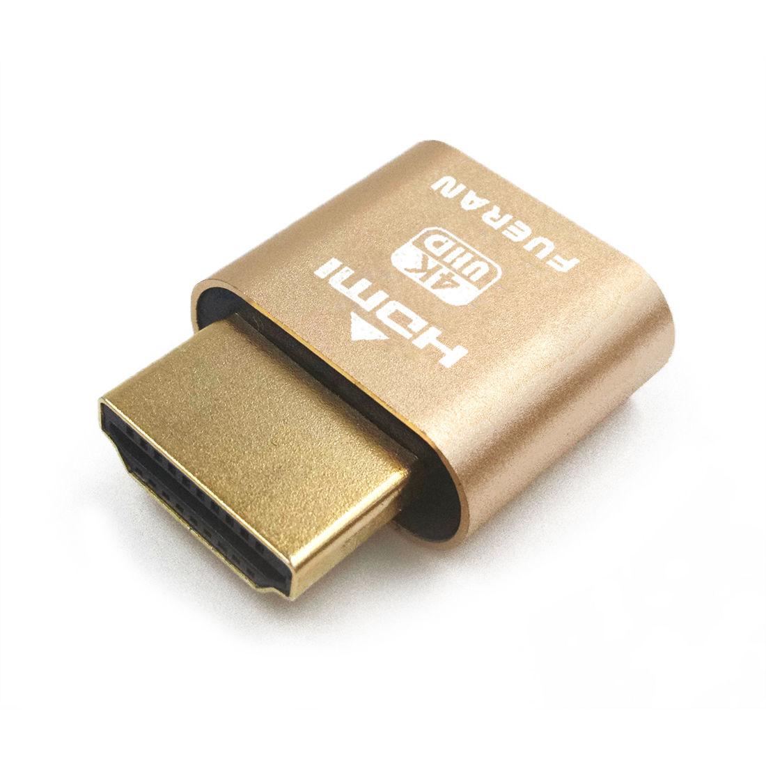 HDMI Dummy Plug Headless Ghost Display Emulator DDC EDID Emulator Display #2