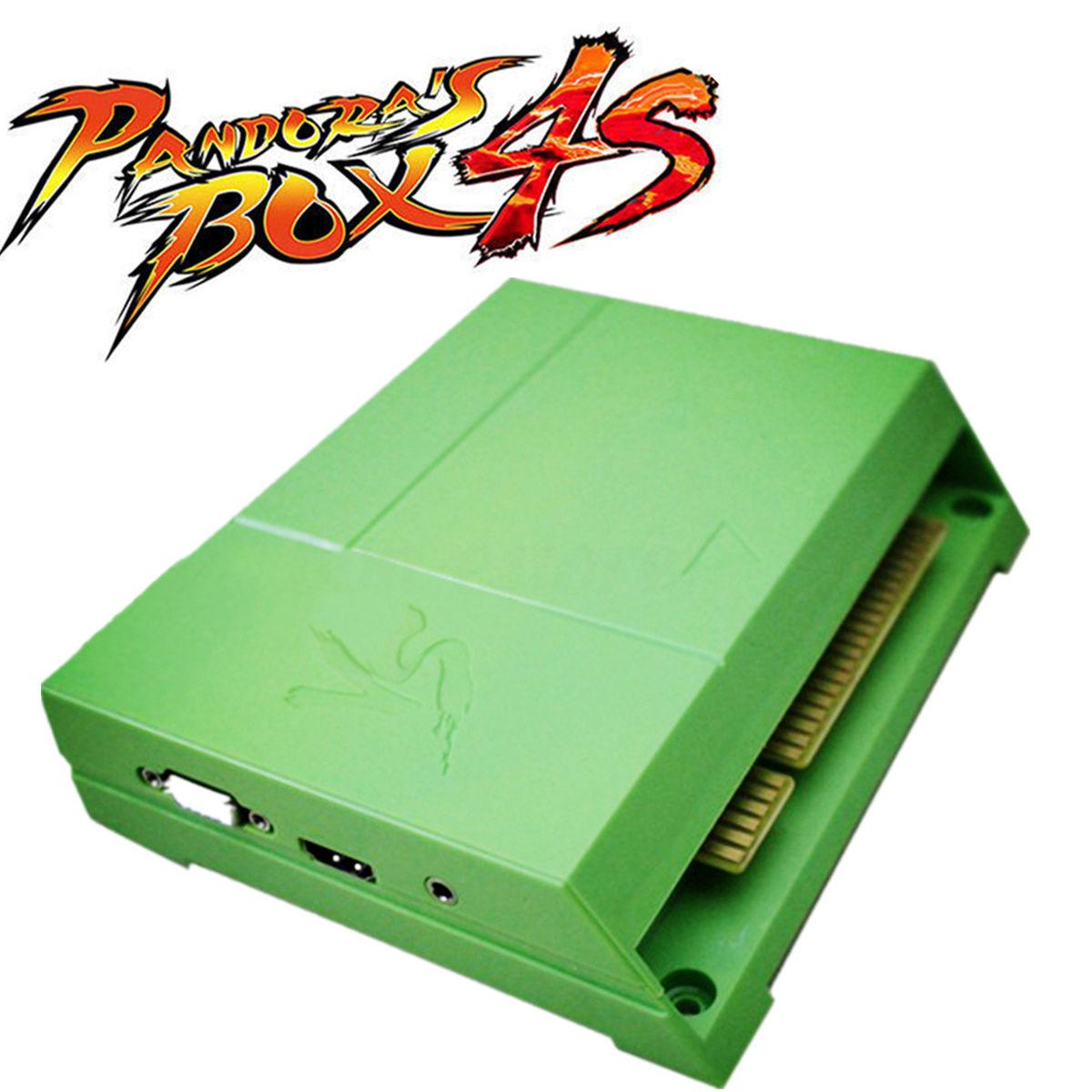 Arcade Jukebox Pinball60 In 1 Jamma Multigame Pcb Icade Wiring Harness 800 Pandoras Box 4s Heros Of Storm 4 Game Board Vgahdmi