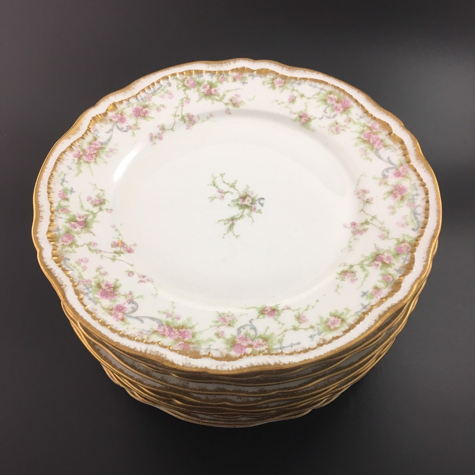 Sch 142A Haviland Limoges Luncheon plate