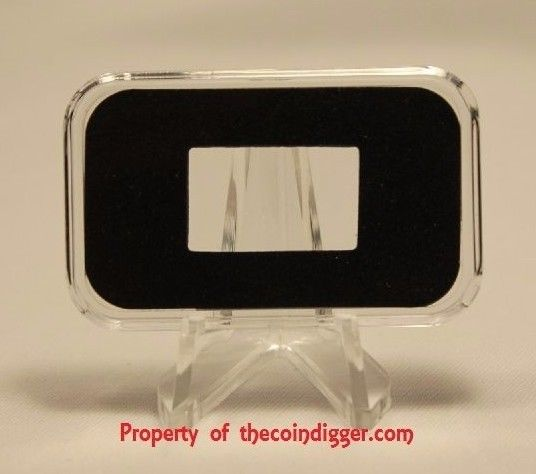 1 AIR-TITE 10oz Silver Bar Ingot Holder Direct Fit Capsule Acrylic Case Airtite