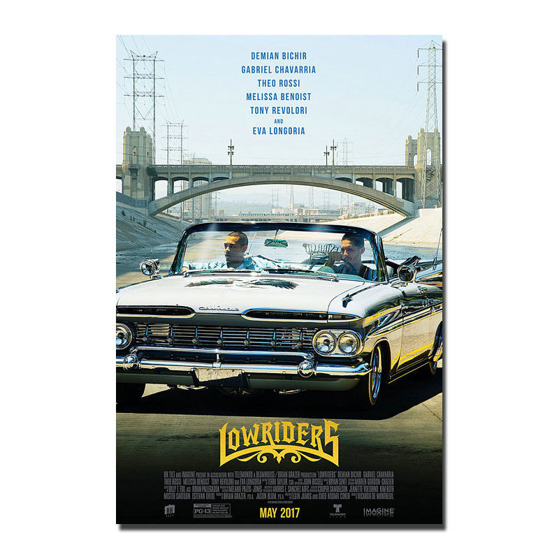 posters lowriders classic movie vintage art silk poster prints 12x18